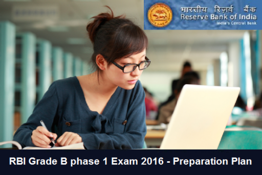 RBI Grade B Phase 1 Exam preparation strategy and tips