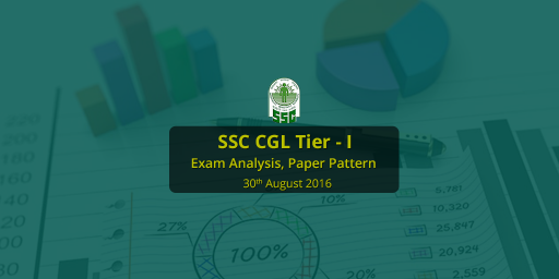 SSC CGL Exam Analysis 30th August 2016