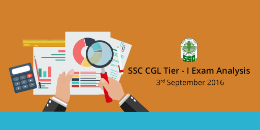 SSC CGL Tier 1 exam Asked Questions answer key, SSC CGL Exam Analysis, Decent Attempts & Expected Cutoff of 3rd september