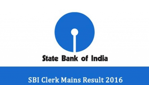 SBI CLERK MAINS 2016 RESULTS