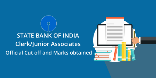 SBI Clerk/Junior-Associates Official Cut off-and-Marks-obtained