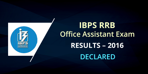 IBPS RRB Assistant result 2016