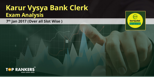 Karur-Vysya-Bank-Clerk-exam-Analysis---7th-Jan-2017-(Over-all-Slot-wise)
