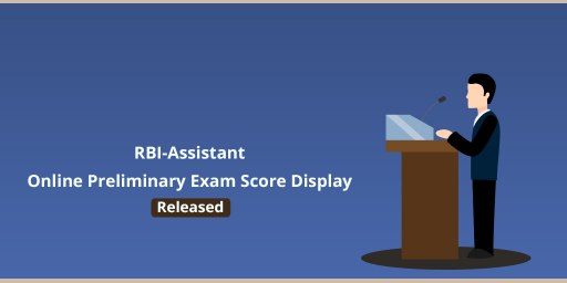 RBI Assistant Online Prelims 2016 Examination Score Card Released