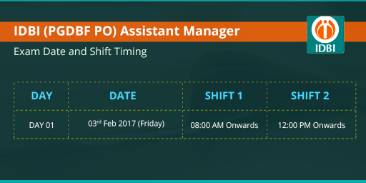 idbi-assistant-manager-exam-date-2017-timing